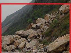 落石、泥石流检测系统