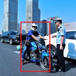 摩托车闯禁行抓拍系统